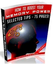How To Boost Your Memory Power (75 Page MRR Ebook Package)  http://dunway.info