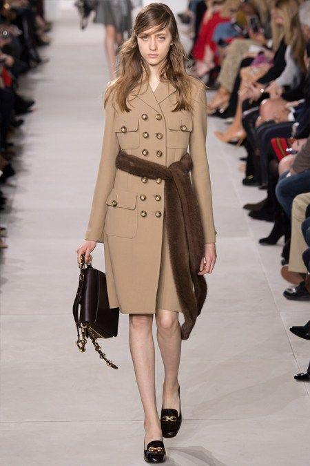 Демисезонное пальто Майкл Корс осень 2016