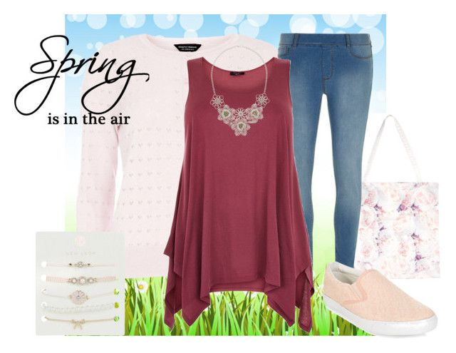 """New spring outfit :)"" by bethan-amy-jones ❤ liked on Polyvore featuring Dorothy Perkins, Spring, jeggings and springessentials"