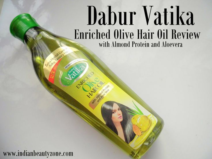 Dabur Vatika Enriched Olive Hair Oil With Almond Protein