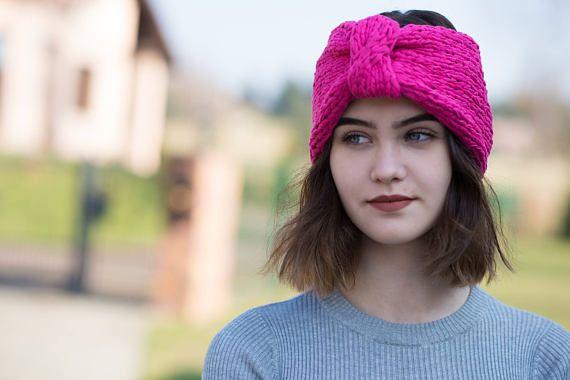 Pink Hairband  Women's hairband  Orginal Hairband  Cotton