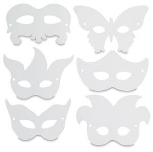 templates for Renaissance masks