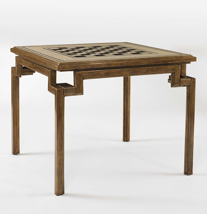 Oscar de la Renta Collection (60S-752) PARCHMENT TOP GAME TABLE