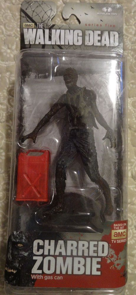 Mcfarlane The Walking Dead Series 5 Charred Zombie (1) Action Figure #McFarlaneToys