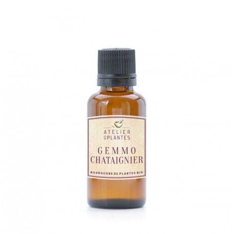 BOURGEON DE CHATAIGNIER BIO 30 ml - Le macérât de bourgeons de châtaignier contribue au soutien du système circulatoire normal.*