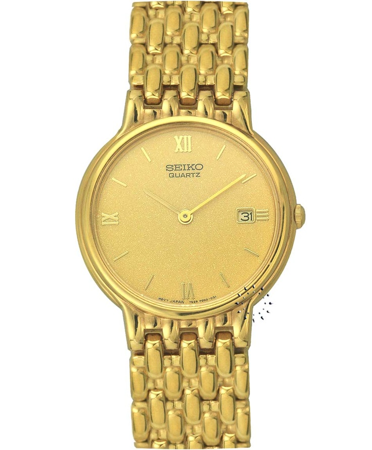 SEIKO Classic Gold Stainless Steel Bracelet Τιμή: 445€ Τιμή Προσφοράς: 89€ http://www.oroloi.gr/product_info.php?products_id=33807
