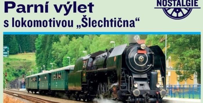 """""""Šlechtična"""" odveze do křivoklátských lesů nebo do ČD Muzea"""