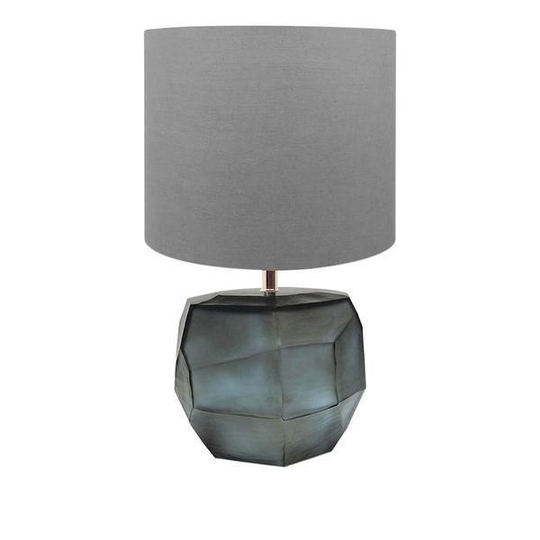 Guaxs Tischleuchte Cubistic bauchig Glas grau - CHF 780