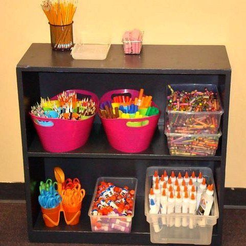 This is a guide to organizing your classroom.   A well organized classroom not only looks tidy and professional but also teaches your students basic organization skills. Having an organized classroom is key to having a successful school year.: Organizations Ideas, Organizations Skills, Colors Pencil, Classroom Organizations, Classroom Ideas, Organizations Classroom, Schools Years, Basic Organizations, Student Basic