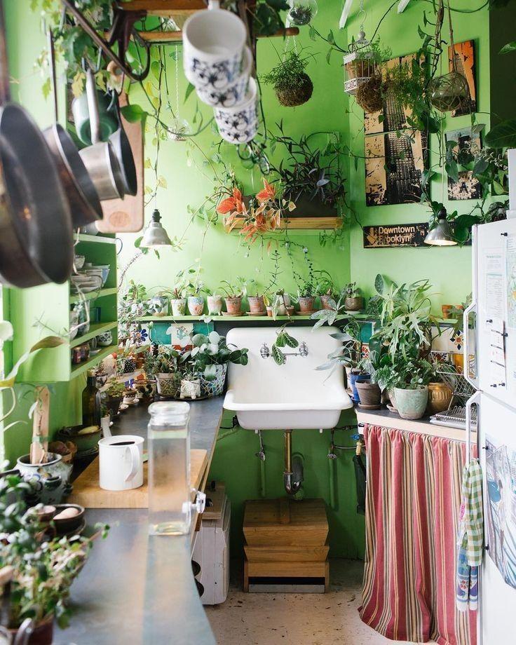 60 boho chic interior kitchen designs and decor ideas bohemian style ideas 19 bohemian kitchen on boho chic kitchen decor bohemian interior id=85306