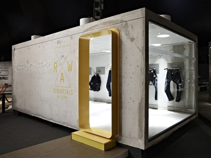 G-Star Enclosed Tradeshow Booth #tradeshow #tradeshowbooth #architecture