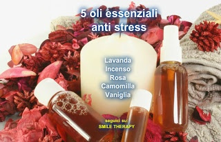 5 oli essenziali antistress