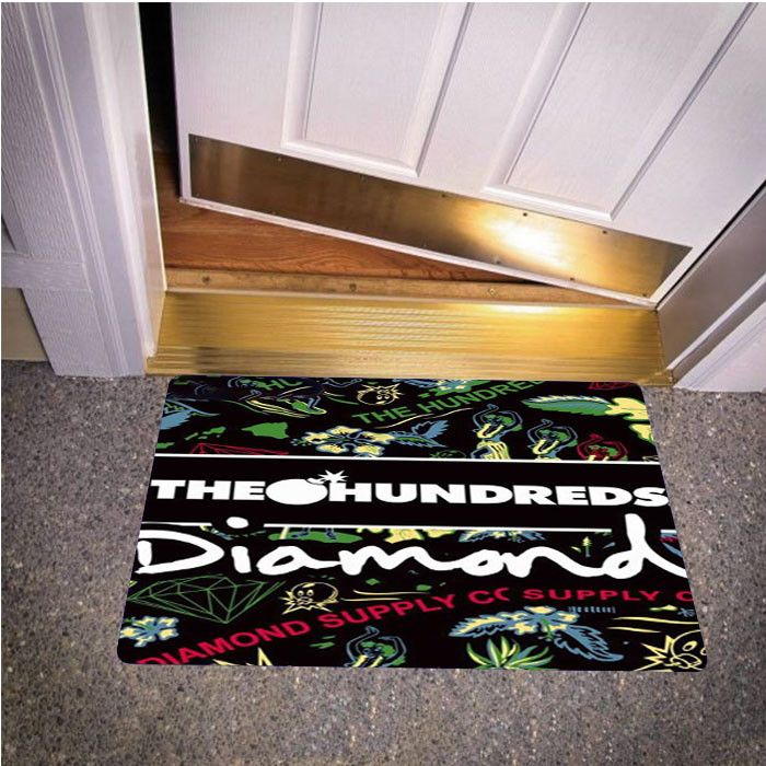 THE HUNDREDS DIAMOND SUPPLY CO BEDROOM CARPET BATH OR DOORMATS