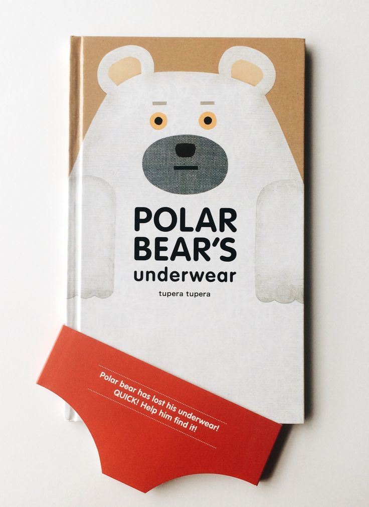This Polar Bear's lost his underwear!