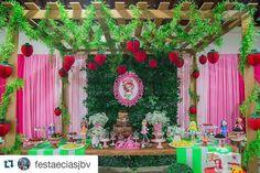 Fiesta tematica de rosita fresita (12) - Decoracion de Fiestas Cumpleaños Bodas, Baby shower, Bautizo, Despedidas