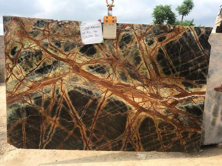 Rainforest Brown Marble Slab Marble slab, Marble, Marble