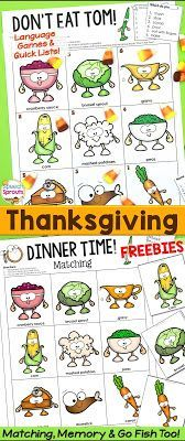 2 Quick and Easy Turkey Day Games for Free: Just Don't Eat Tom!