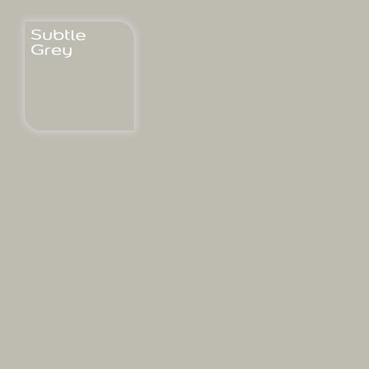 Pure by Flexa Colour Lab® kleur: Subtle Grey. Verkrijgbaar in verfspeciaalzaken.