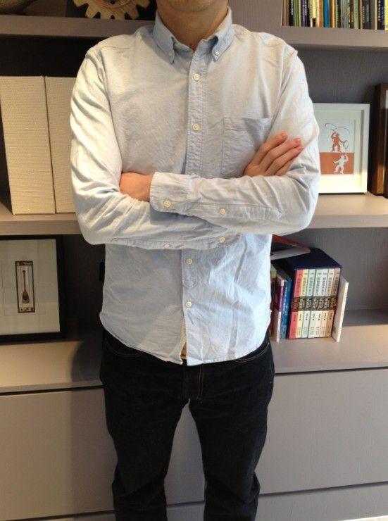 [ Tbh4c мужская одежда свободного покроя кнопка рубашки 100% оксфорд купить на AliExpress