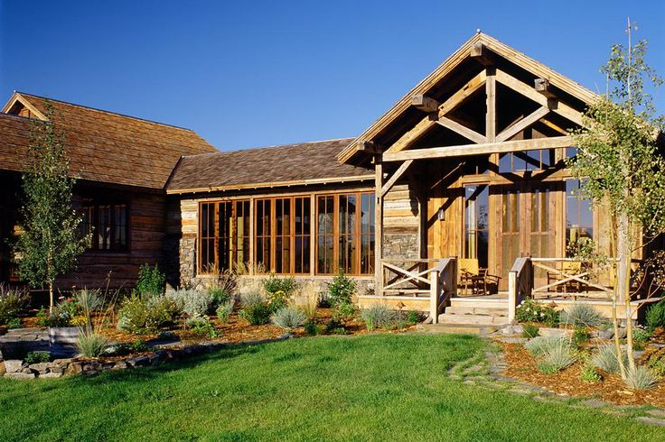 97 best montana ranch homes images on pinterest log for Log home architects
