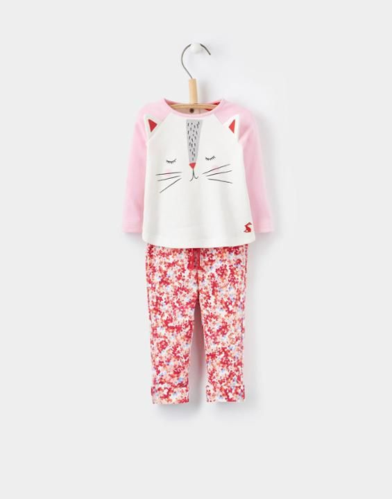 Joules Amalie BabyGirls Top and Bottoms Set