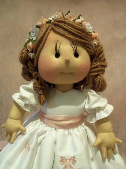 Cloth doll made ​​to order under R $ 480.00