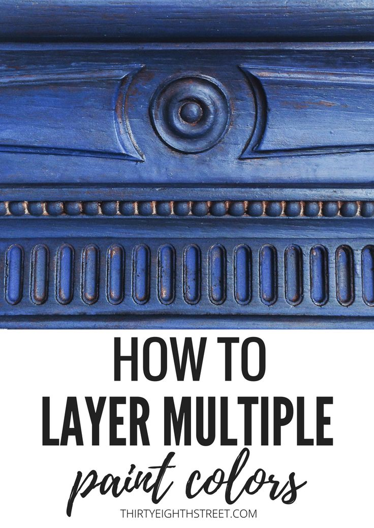 Here's another fabulous layering paint technique using Annie Sloan Chalk Paints®. In this post, you'll learn how to paint and layer chalk paint® colors onto your mirrors and outdated furniture with these Chalk Paint® tips and tricks!