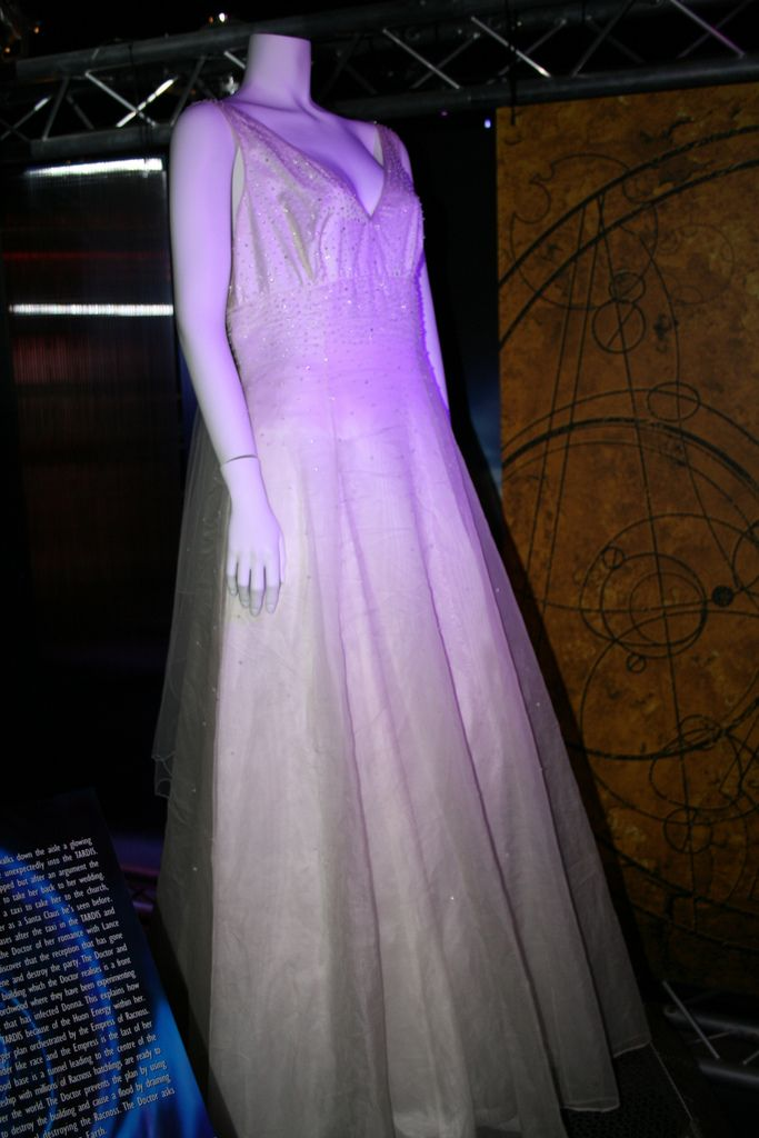 The Wedding Dress Worn By Catherine Tate During Filming Of Runaway Bride Donna NobleCatherine