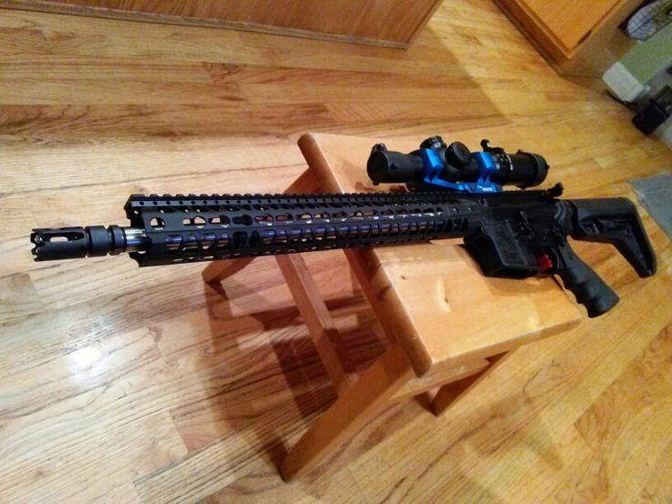 A Custom Built 3 Gun Ar 15 By Http Www Hawktecharms Com