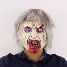 Halloween Scary Clown Mask Latex Terror Adult Full Face Ghost Mask Halloween Props - Banggood Mobile