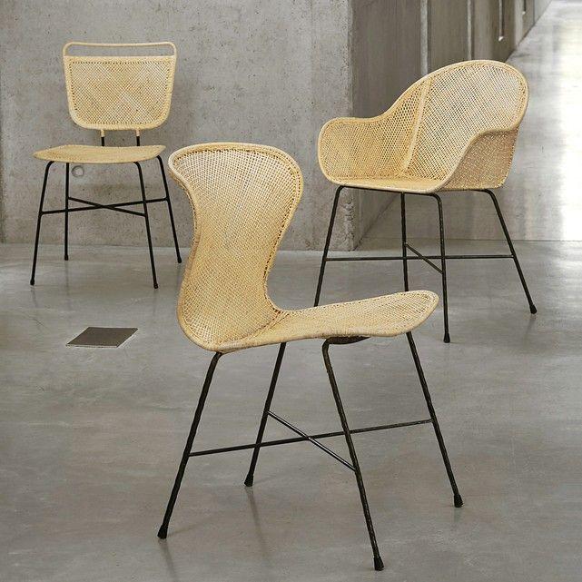 Theophane Designer Rattan Chair Natural Am Pm La Redoute Rattan Chair Chair Rattan