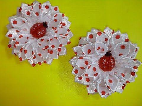 Купить атласные ленты: http://charivnytsa.com.ua/materialy/atlasnaya-lenta Тэрморезка для лент : http://goo.gl/y3pPJg Сегодня вы узнаете как сделать своими р...
