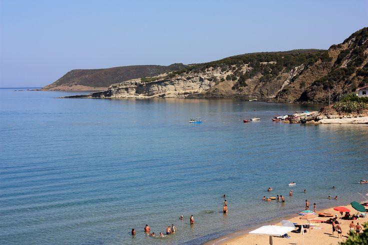 Marina d'Arbus nel Sardegna