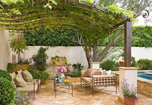45 Beautiful Mediterranean Patio Designs Ideas Patio Design
