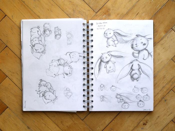 Adelaida - Art, illustration and craft blog of Aleksandra Chabros: From my sketchbook #11