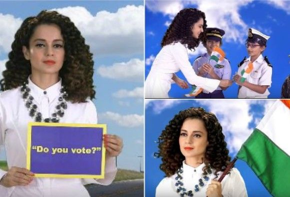 """VIDEO: Kangna freedom rejoice """"Love Your Country"""", with songs"""