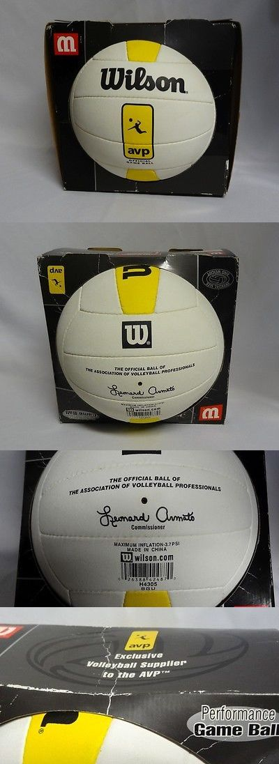 Volleyballs 159132: Wilson Avp Tour Official Game Ball Professional Volleyball H4305 Htf Rare New ? -> BUY IT NOW ONLY: $89.99 on eBay!
