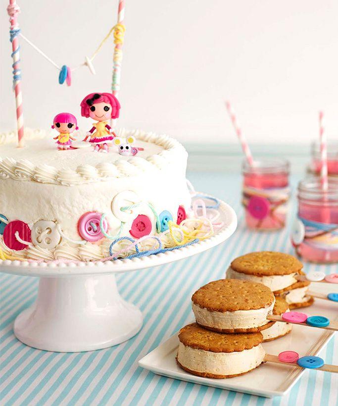 Lalaloopsy Birthday Party Cake