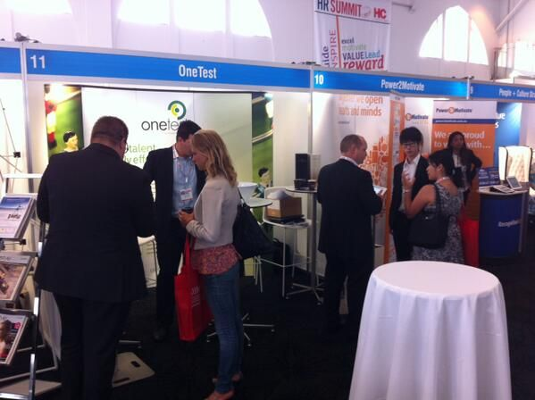 The onetest_hr team looking good at #hrsummit_au photo source: @onetest_hr  To see more schedule of HR events, visit the http://www.hcamag.com/hr-events/