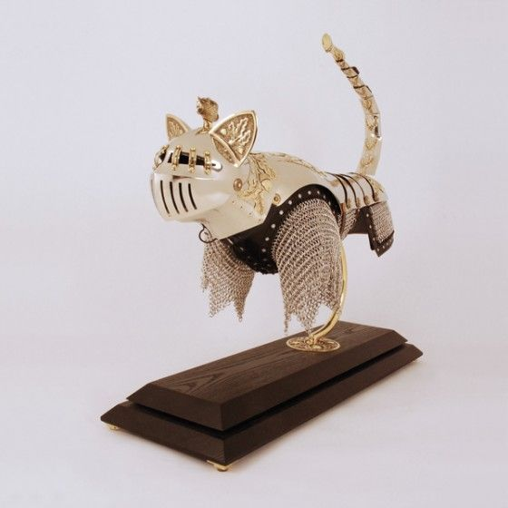 Medieval Cat Armor? We'll Take a Suit, Please!   Catster