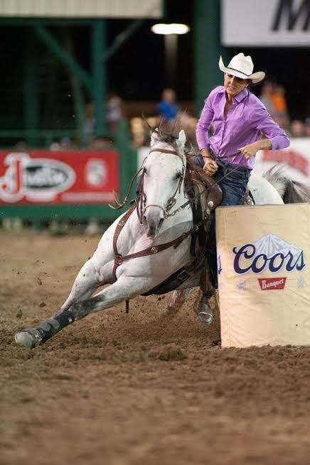 Barrel Racers on Fire: Carley Richardson….. Brought to you by Kentucky Performance Products | On the Rodeo Road