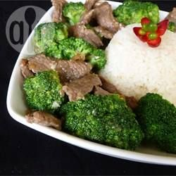 Broccoli and Ginger Beef Stir-Fry