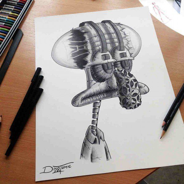 9 best Dibujos v images on Pinterest  Drawings Fish and Cartoons
