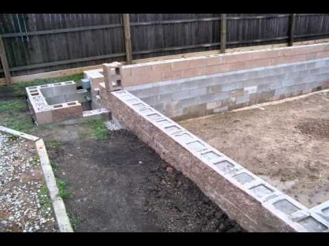 HomeBuilt DIY Concrete Block Swimming Pool - YouTube This so gonna happen