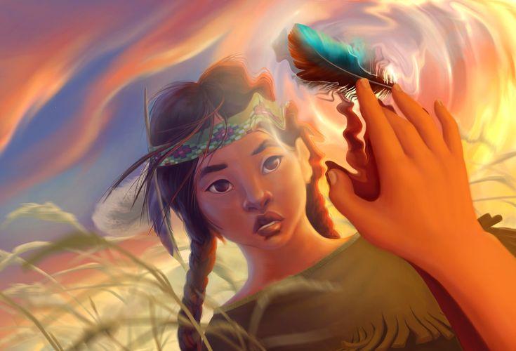 Water. Air. Freedom., Kate Kondrukhova on ArtStation at https://www.artstation.com/artwork/NE12z