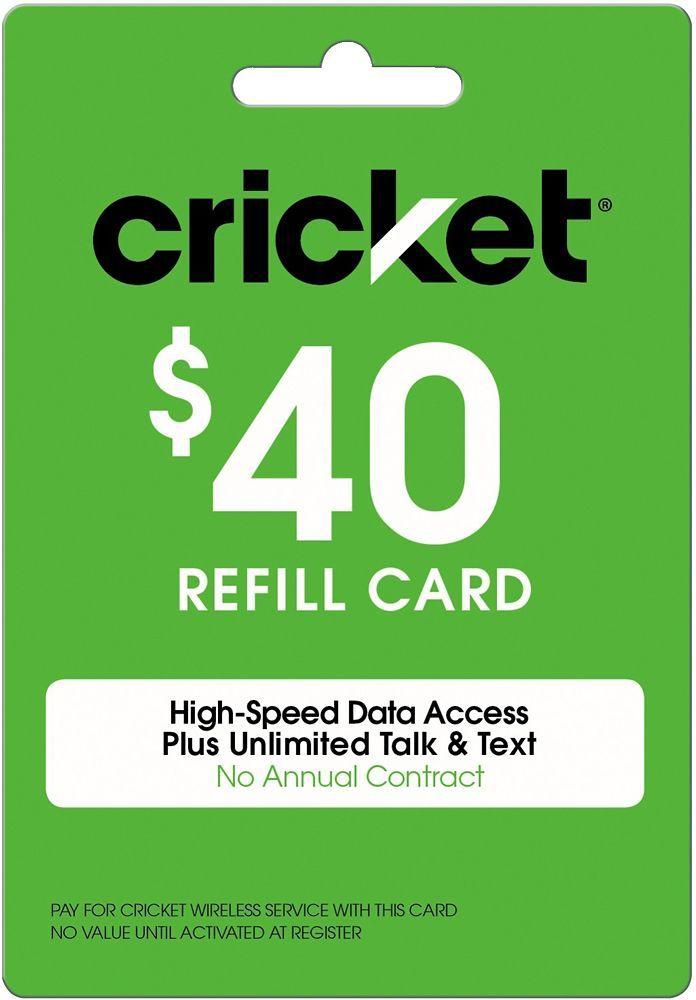 Free Cricket Wireless Reload Codes Cricket Wireless Cricket Phones Wireless