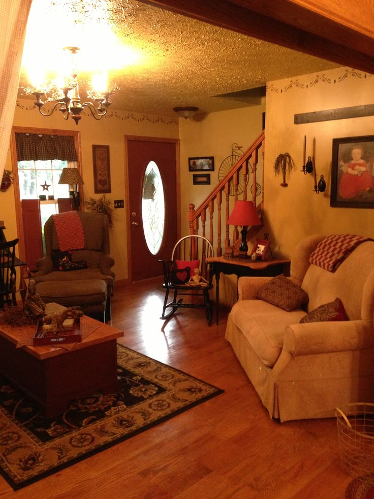 Primitive Country Living Room Decorating Ideas: My Wv Primitive Home