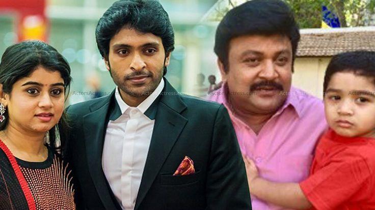 Vikram Prabhu Family Photos - Tamil Actor Vikram Prabhu Family & Friends