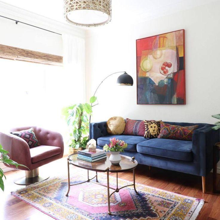 25 Boho Chic Living Room Decor Ideas Colorful Vintage Bohemian