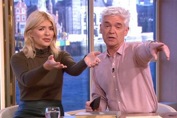 Many people were expecting to see Prince Charles on This Morning yesterday, however it wasn't aired.  Today, This Morning presenters Holly Willoughby and Phillip Schofield revealed that Charles and Camilla arrived shortly after yesterday's episode went off air.  They showed a montage of clips from the visit, during which every member of ITV's Daytime team met the Royal duo.